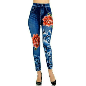 Rico Jean Womens High Waist Skinny Slim Legging